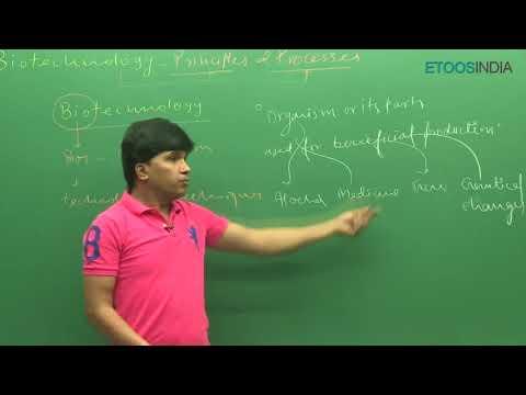 NEET I Biology I Biotechnology -Principle & Processes I M.Asad Qureshi (MAQ) Sir from ETOOSINDIA.COM thumbnail
