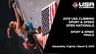2019 USA Climbing: Sport & Speed Open National Championships | Finals