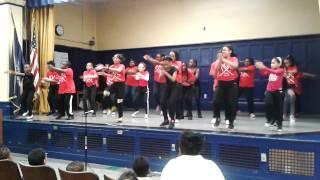 Public School 161 Spirit Day Performance'