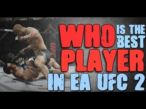 EA Sports UFC 2 Tournament - KeneticNRG vs T4H Darth - BO3 (No Commentary)