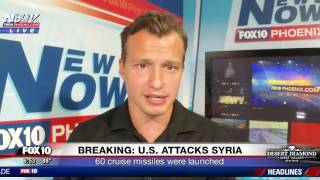 BREAKING: UPDATE U.S. Attacks Syria In Missile Attack (FNN)