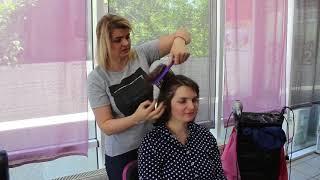 VLOG Спросили у парикмахера надо ли стричь ребенка налысо в годик. Меняем прически.