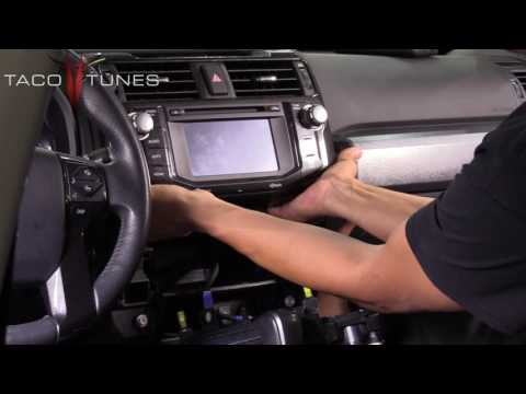 Toyota 4Runner How to remove the stock stereo head unit radio