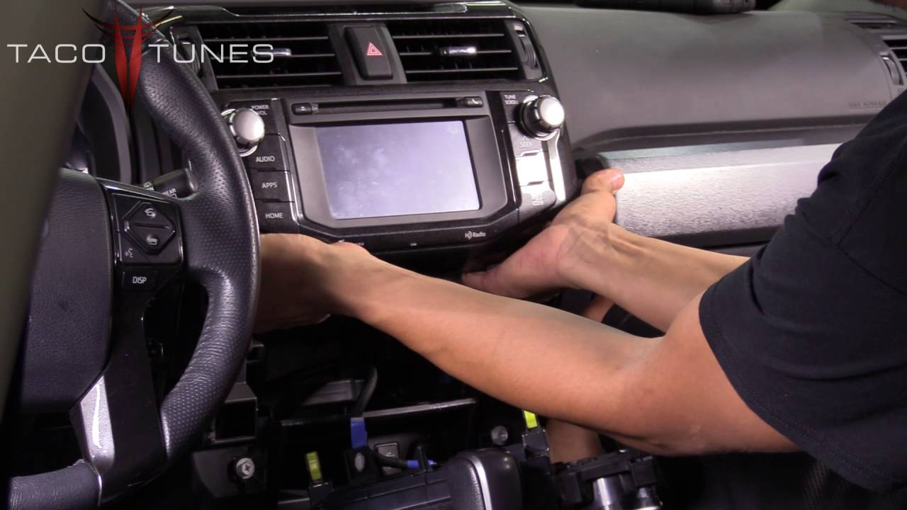 Toyota 4runner How To Remove The Stock Stereo Head Unit Radio Youtube Tacoma Access Wiring Diagram