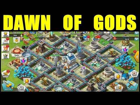 Dawn of Gods Gameplay ● Dawn of Gods Android Gameplay ● Real-Time Strategy Game (Mobile RTS Game)