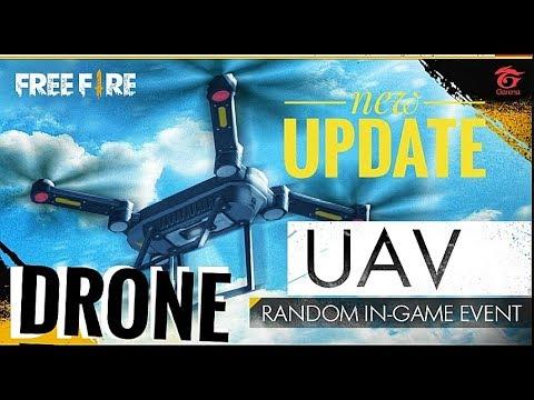 New  Free Fire Battlegrounds - New UAV/Drone Update GAMEPLAY
