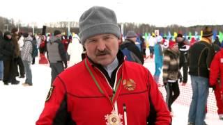 Лукашенко о проведении соревнований по биатлону