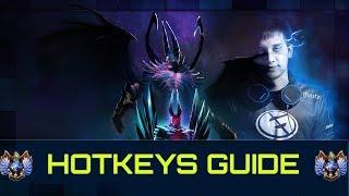 Pro Players Hotkeys Settings | Dota 2 Guide