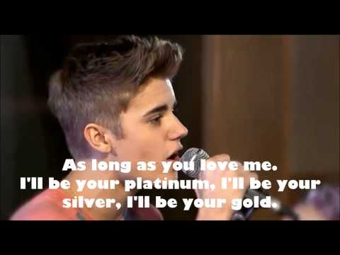 As long as you love me  Justin Bieber  Teen Awards 2012 lyrics