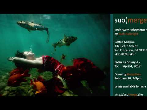 Radio Interview for submerge Underwater Photography Gallery Opening