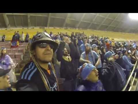 NYCFC SUPPORTERS AT D.C UNITED 10-2-2015