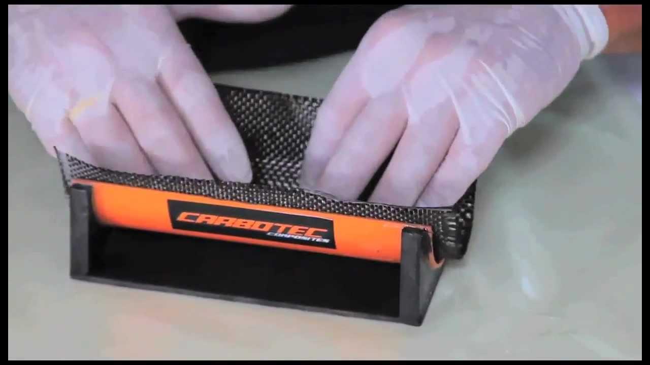 Tutorial de Fabricacion de Piezas en Fibra de Carbono - YouTube