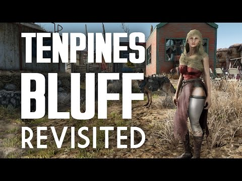 """Tenpines Bluff Revisited - A """"Lived-in"""" Fallout 4 Settlement Build"""