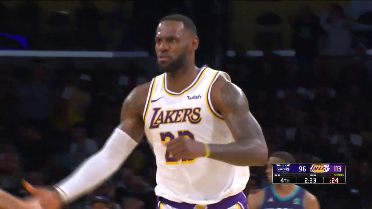 Los Angles Lakers vs Charlotte Hornets | October 27,2019