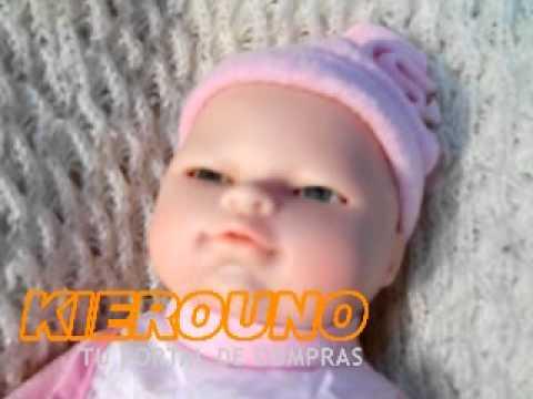 Mu eca bebote interactiva que habla rie y llora y parpadea for Espejo que habla juguete