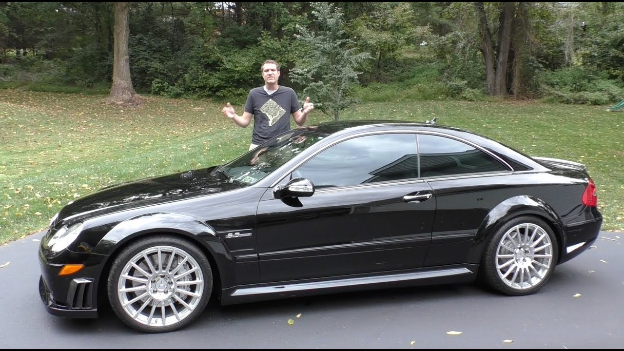 Here's Why the Mercedes CLK63 Black Series Is the Best AMG Car