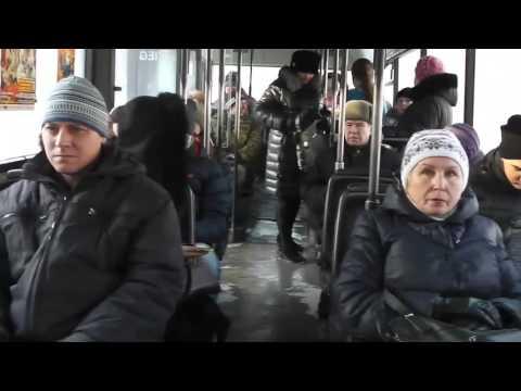 По маршруту автобуса № 24