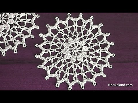 Crochet Doily Tutorial For Beginners How To Crochet Youtube