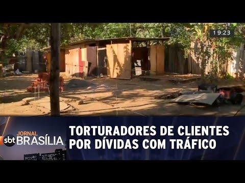Torturadores do tráfico de drogas são presos | Jornal SBT Brasília 15/08/2018