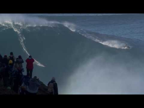 Why is Nazare the biggest waves in the world? 20