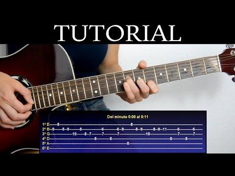 Cómo tocar Mad World de Gary Jules (Tutorial de Guitarra) / How to play