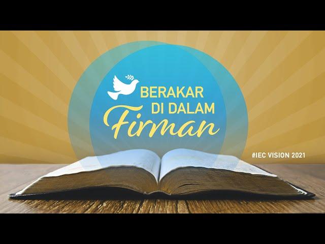 Join Us Sunday Service 2021.07.25 10:30 AM | IEC Azusa Indonesian Service