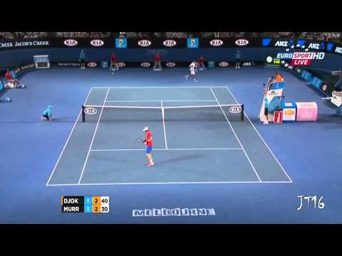 Djokovic VS Murray - Australian Open SemiFinal 2012 [Highlights HD]