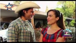 Detras de camaras en Amores con Trampa - Eduardo Yañez es Favundo Carmona