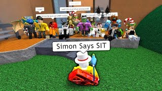 MM2 SIMON SAYS WITH NEW EMOTES