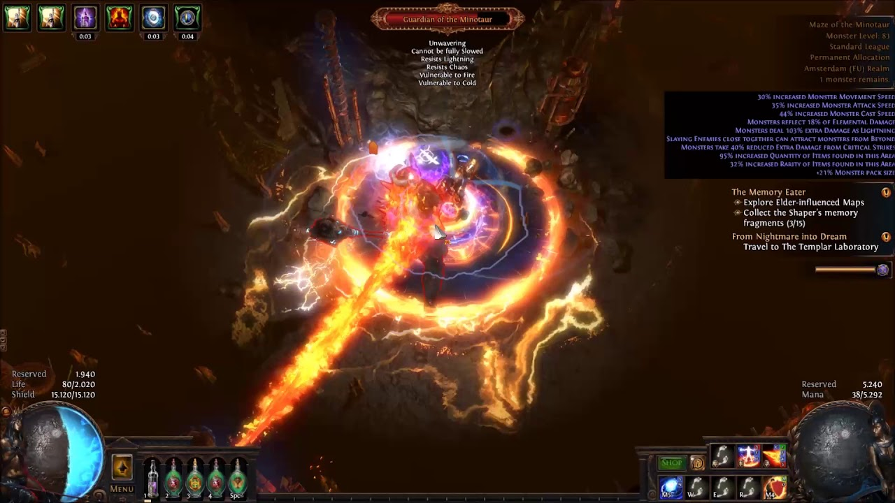 POE 3 2 Builds For Ascendancy Classes Guardian In Bestiary