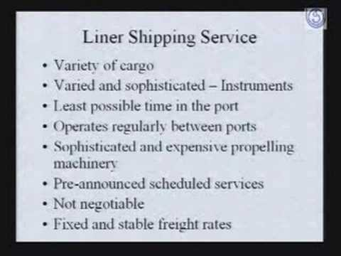 Shipment of Export Cargo