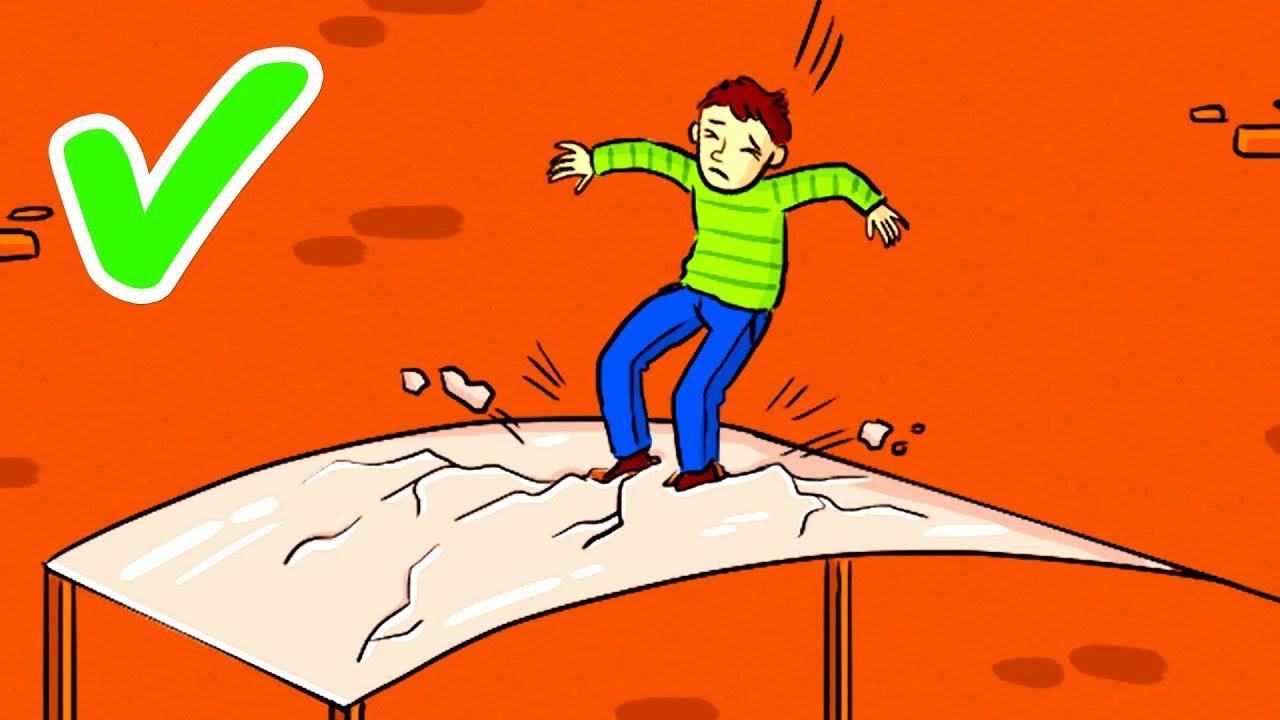 Как Выжить, Если Вы Падаете с Огромной Высоты и Кажется, что Шансов Нет