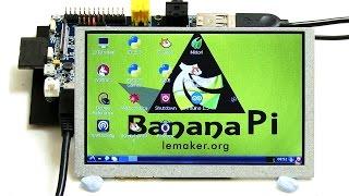 Banana Pi Camera & LCD