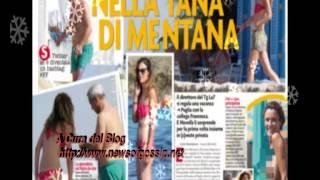 Enrico Mentana e Francesca Fagnani pizzicati al mare insieme