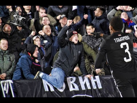 Tačka ključanjaaa ..goool na JNA  | Partizan - Viktoria Plzeň 15.02.2018