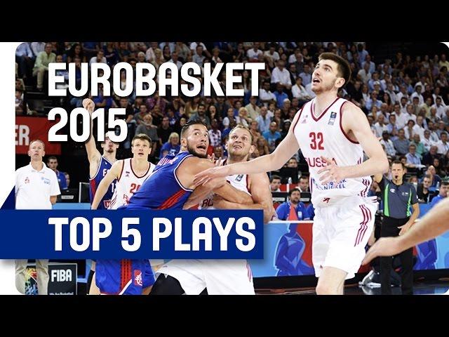 Γιάννης Αντετοκούνμπο | ... για άλλη μια φορά στο Top 5 της ημέρας (4η Ευρωμπάσκετ 2015)