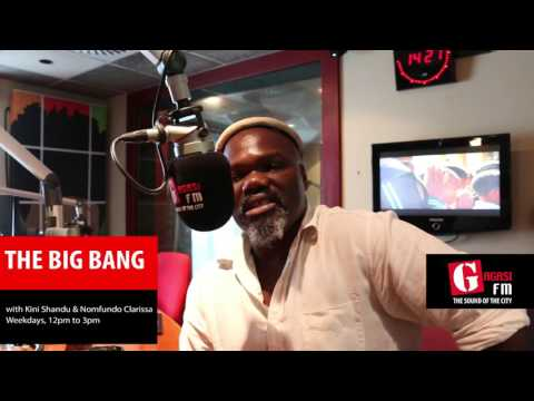 Mbuso Khoza on The Big Bang with Kini Shandu and Nomfundo Clarissa
