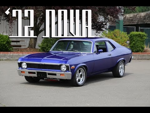 1972 Chevy Nova 383 Stroker In Royal Purple Youtube