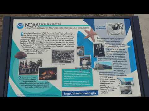 NOAA NATIONAL OCEANIC ATMOSPHERIC ADMINISTRATION FROM 1961 @ SANDY HOOK FORT HANCOCK ARMY BASE