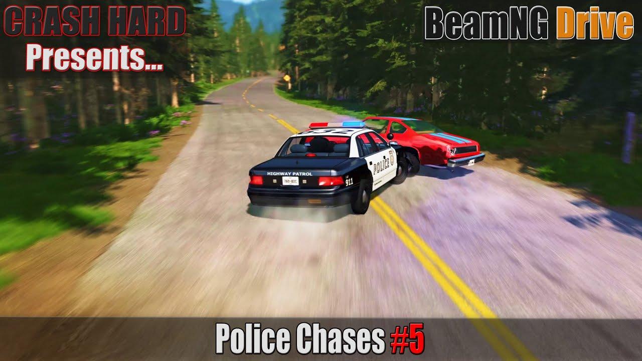 BeamNG Drive - Police Chases #5