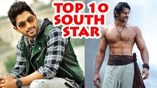 Top 10 famous south indian actors 2016