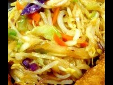 HOW TO PREPARE SHANGHAI NOODLESCHINEES RECIPES,NON VEGETARIAN