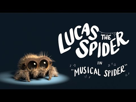 Lucas the Spider - Musical Spider