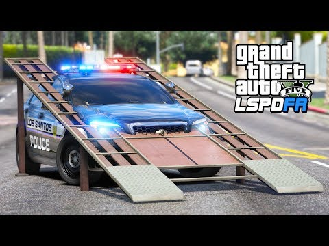 GTA 5 Mods - *NEW* Police RAMP Car!! (LSPDFR Gameplay) thumbnail