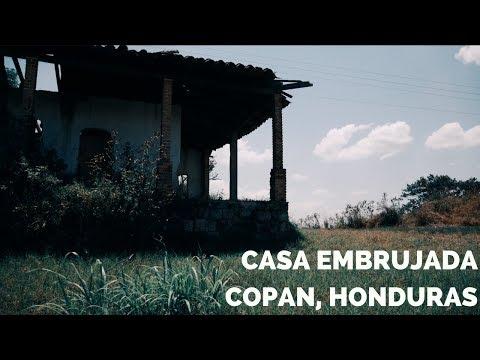 LA CASA EMBRUJADA DE SANTA ROSA DE COPAN HONDURAS