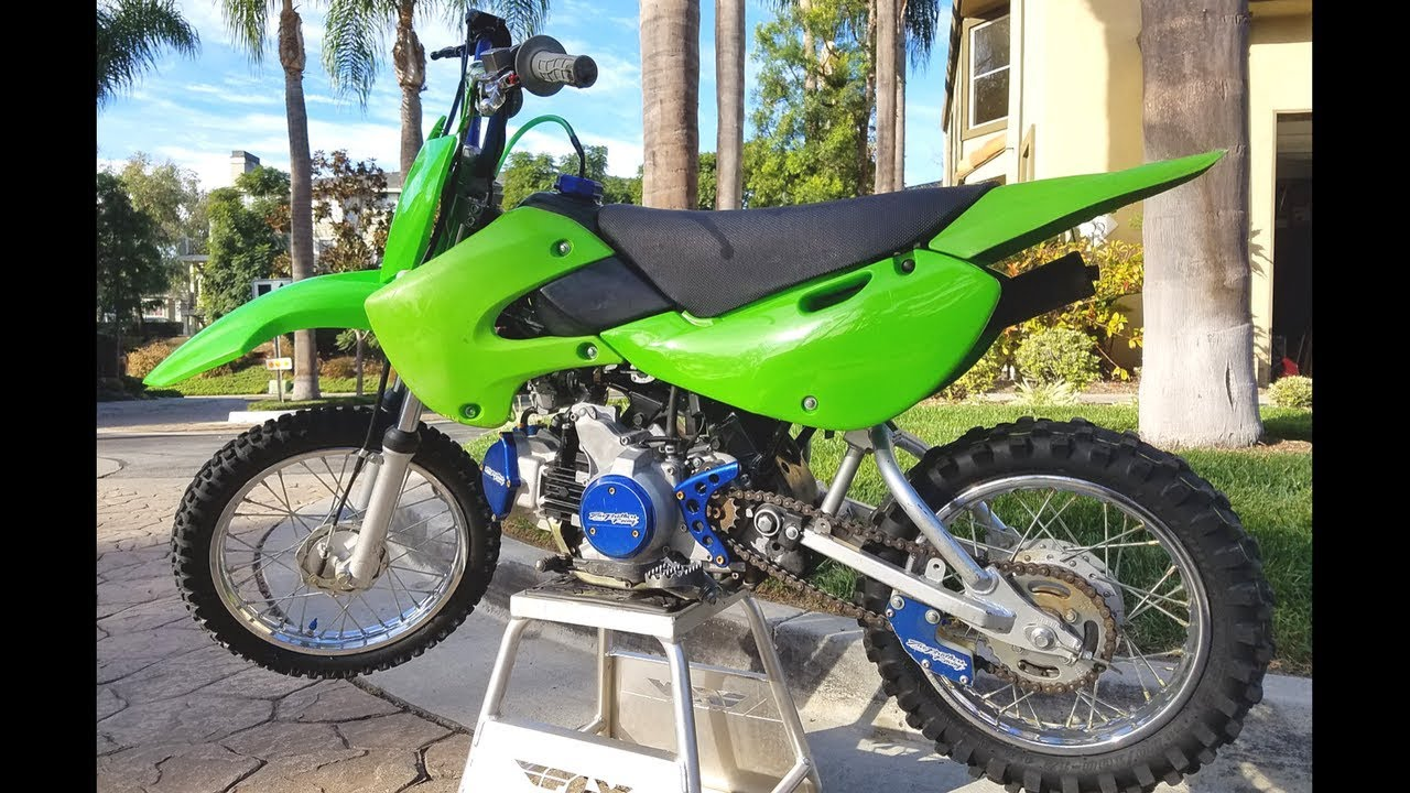 KLX 110 Pitbike Build Stock Mod To Full Mod | Part 1