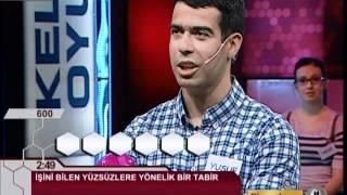 Kelime Oyunu 01-07-2012 Büyük Final (Yusuf Dinçer)