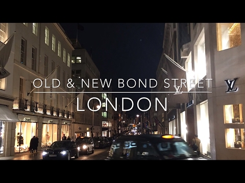 Old & New Bond Street, London shopping