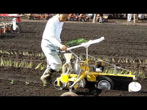 Semi-automatic vegetable transplanter MINORU VT 2
