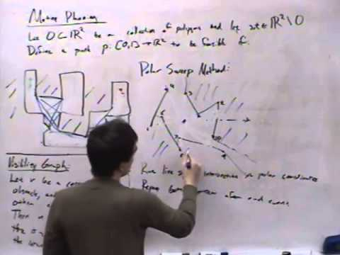 Computational Geometry Lecture 23: Motion planning